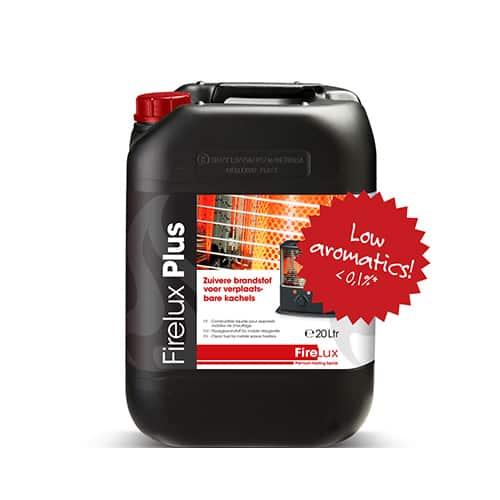 Firelux Petroleum im 20 Liter Kanister - geruchsarm - wenig Aromate und Schwefel